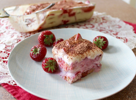 Kinder-Tiramisu mit Erdbeeren à la Jasmin Hekmati
