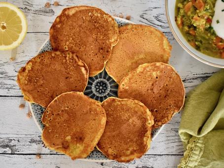 Kichererbsen-Pancakes