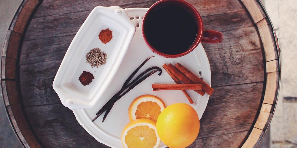 Mulled Spiced Wine Release Party