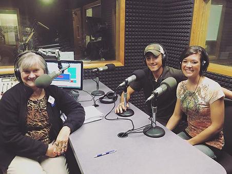 Dave & Danielle interviewed on radio about Liquid Art Winery in Manhattan, KS