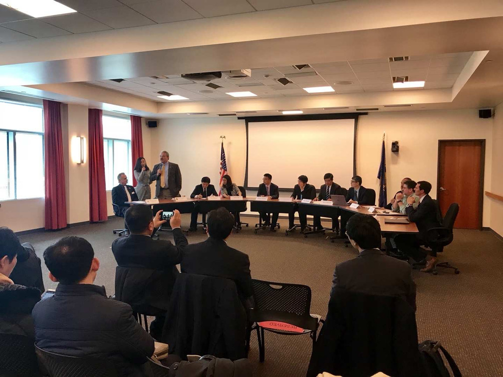 Tianjin mulnicipal government delegation visit Clackamas County