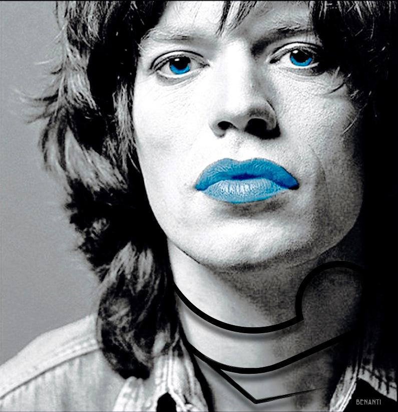 JAGGER IN BLUE