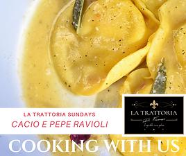 Cacio e Pepe Ravioli Recipe