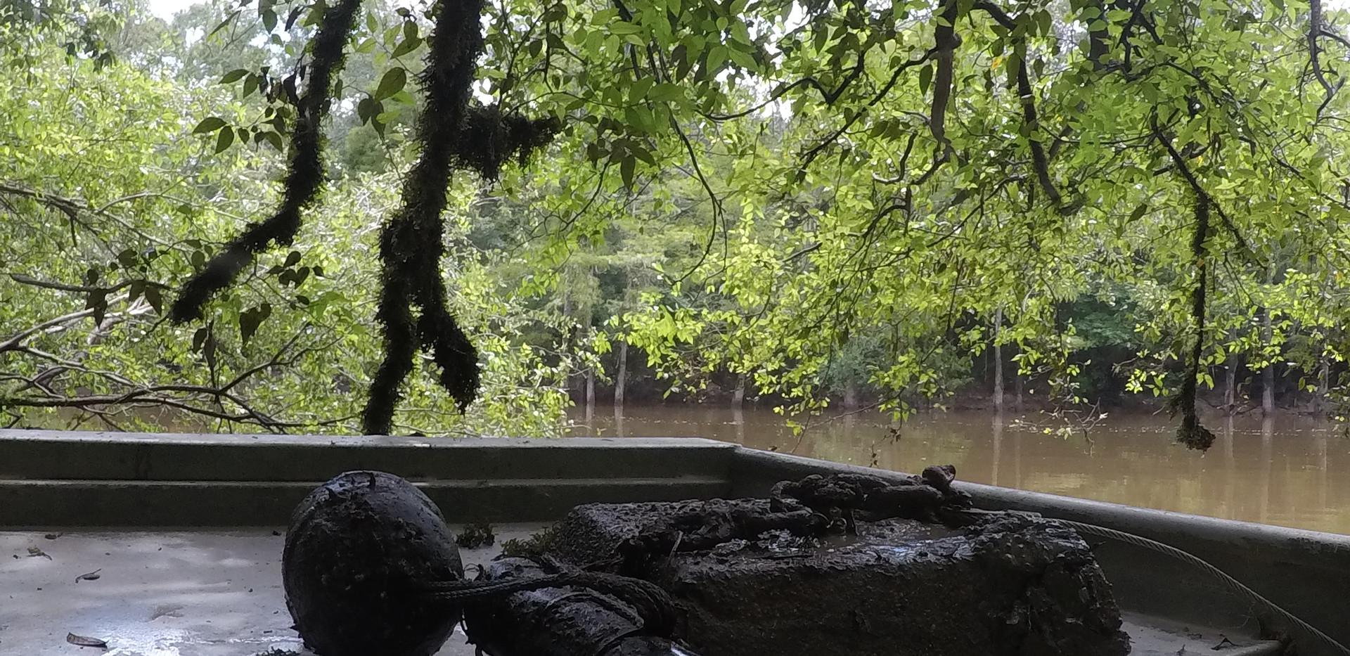 River AcousticTelemetry Rig