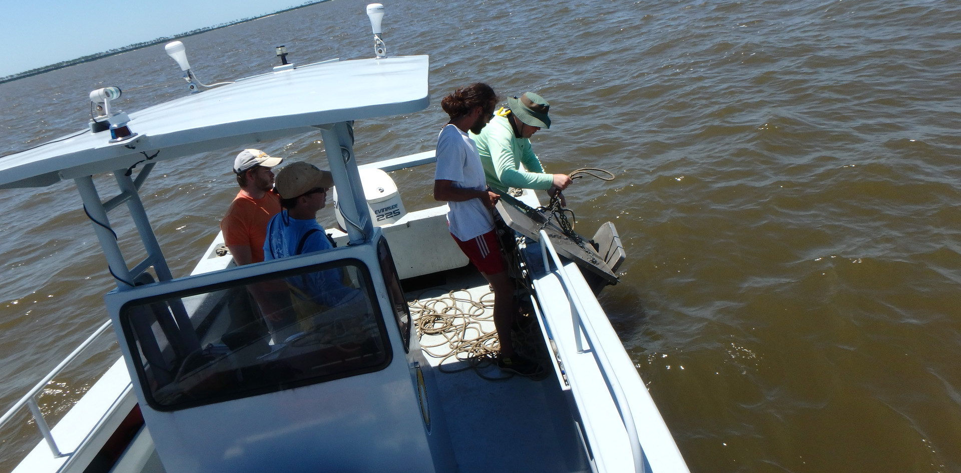 Brining in the trawl
