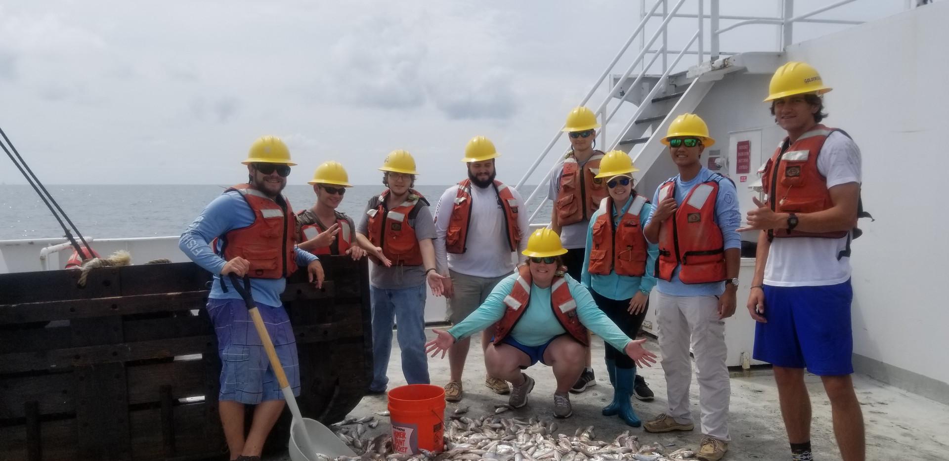 Marine Ich 2018 on RV Point Sur