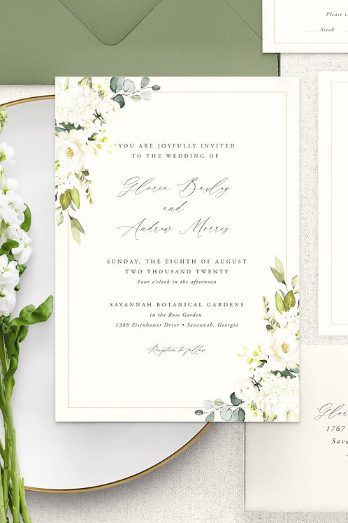 Gloria Invitation