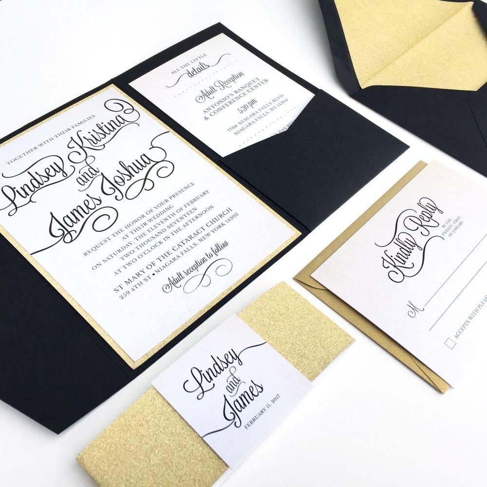 Black & Gold Wedding Suite