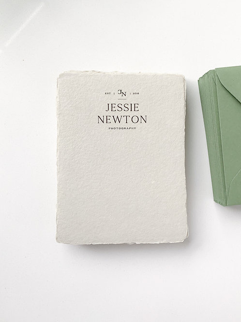 Personalized Stationery - Flat Card