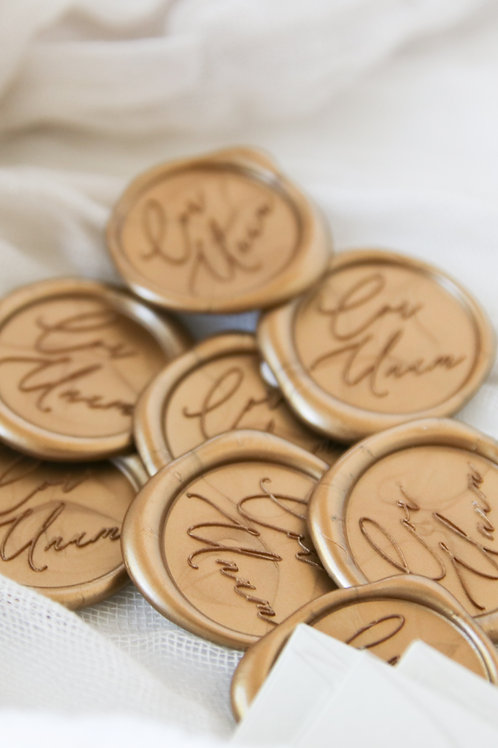 Self-Adhesive Wax Seals
