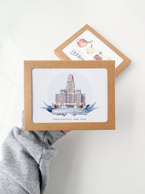 Buffalo City Hall Cards