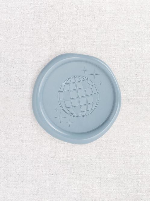 Disco Ball Wax Seals