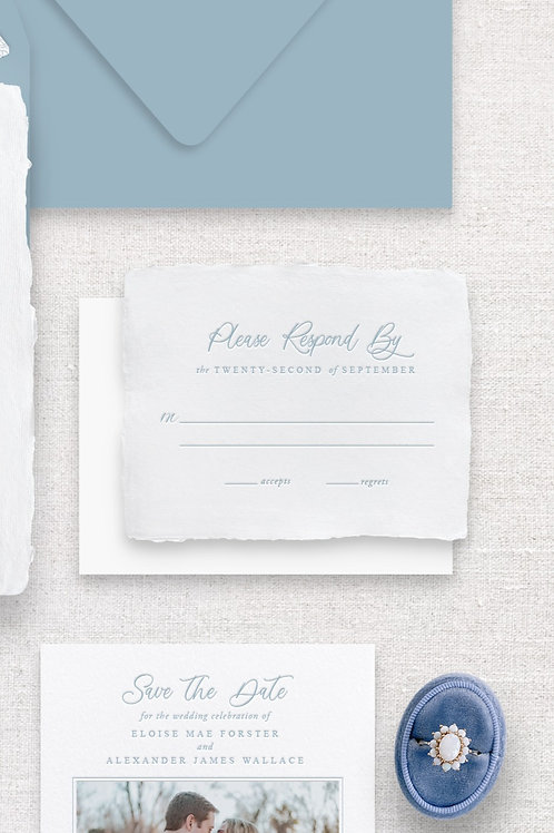 Eloise RSVP Card