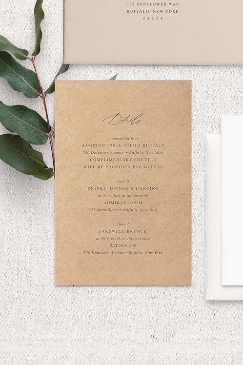 Amanda Detail Card