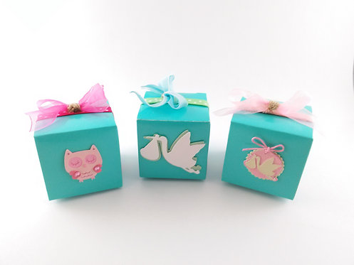 Tiffany Blue Baby Shower Party Favors