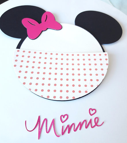 DIY Minnie Mouse Invitations kit