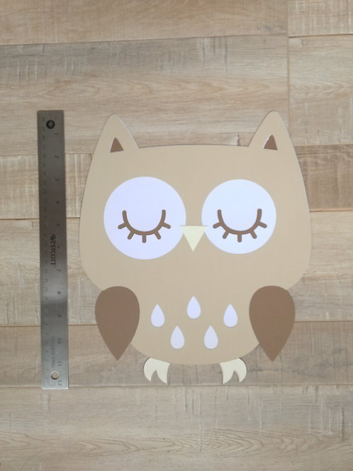 Adorable Owl DieCut (Extra Large)