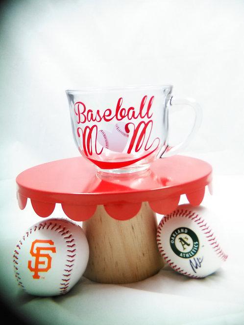 """Printable """"Baseball Mom"""" Decal"""