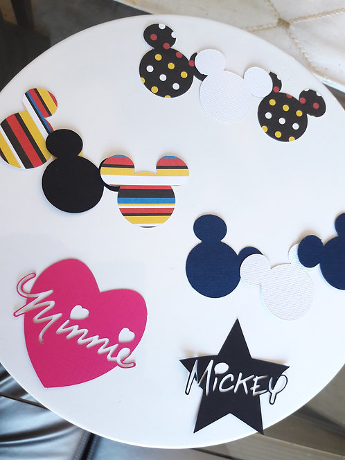 Mickey Mouse Die Cuts