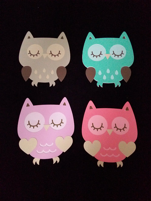 Adorable Owl DieCuts (Large)