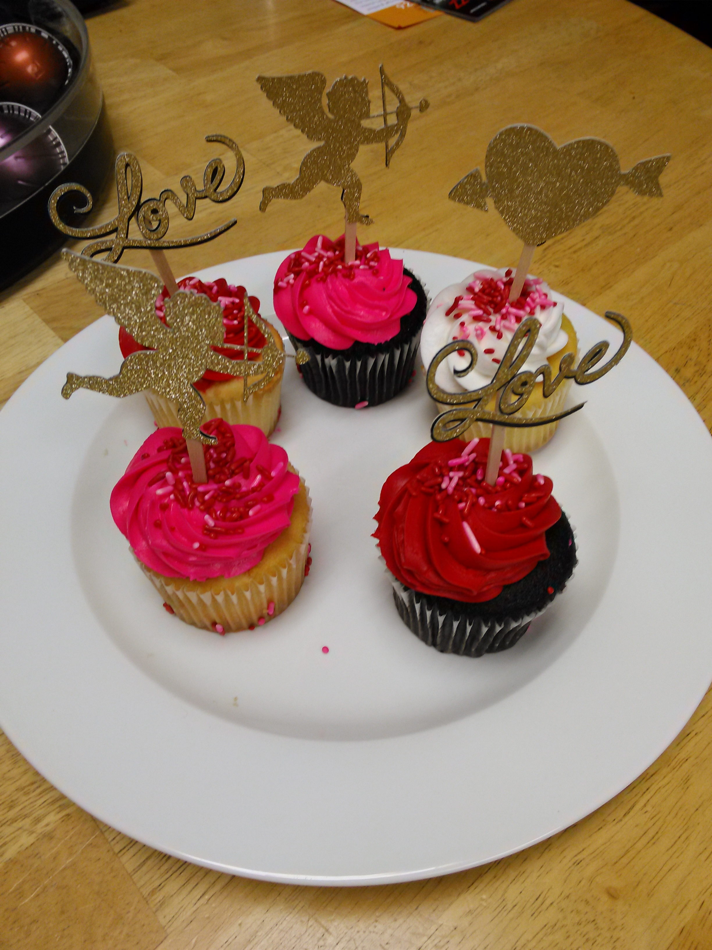 Cupcake Toppers Cupid