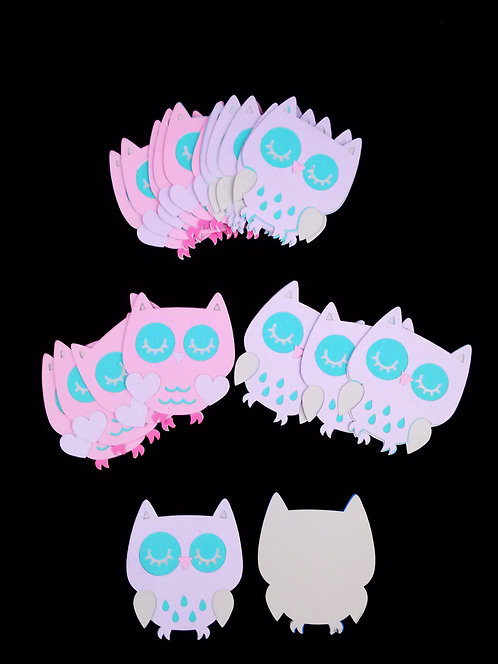 Adorable Owl DieCuts (Medium)