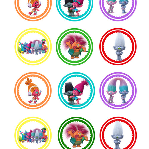 Dab Craft Creations Printable Toppers