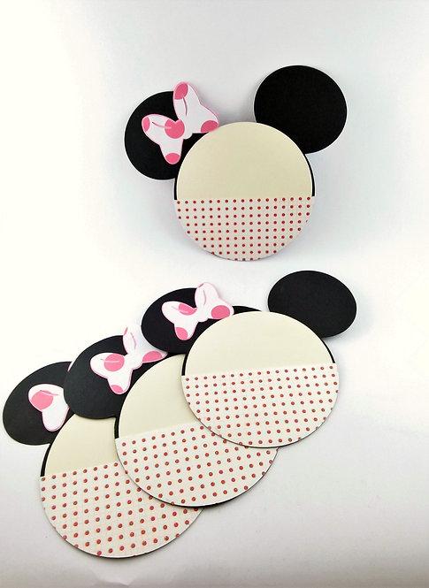 Premium Minnie Mouse Party Invitations