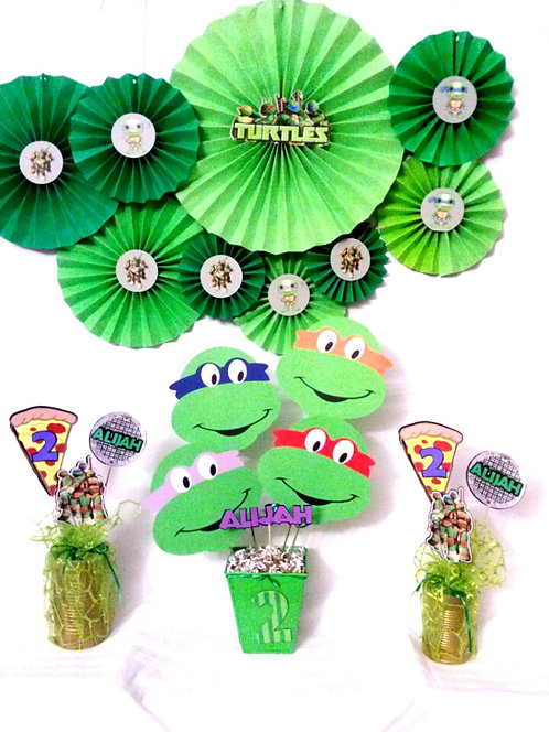 Custom Ninja Turtles Party Package