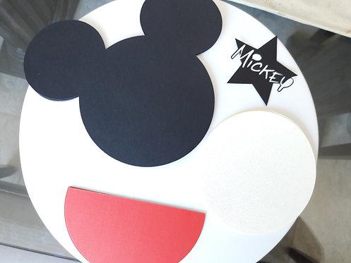 DIY Mickey Mouse Invitations kit