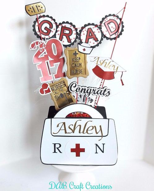 Nurse Graduation Centerpiece