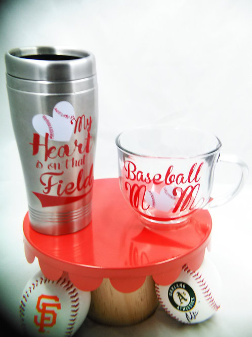 Baseball Mom Vinyl Decals
