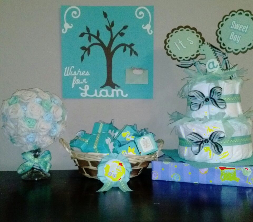 Baby Shower Teal theme
