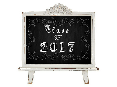 Printable Chalkboard Graduation Sign