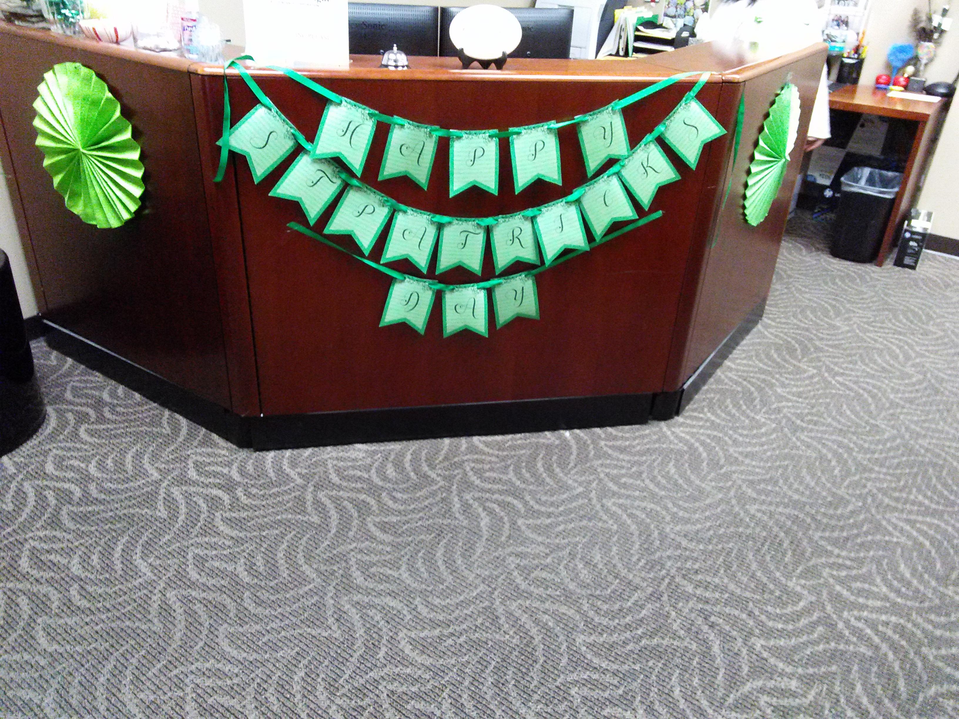 Saint Patricks Day Banner / Rosette