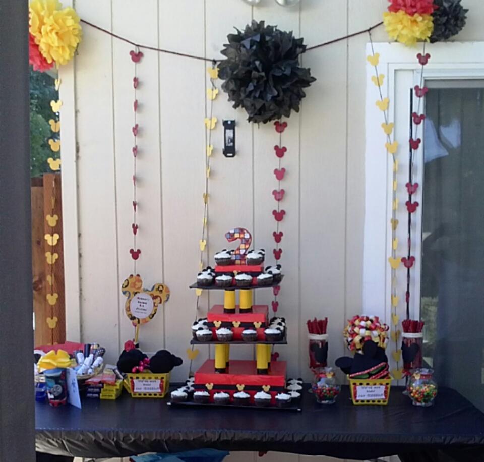 Mickey Mouse Theme Birthday