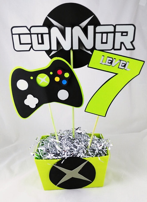 Gaming Xbox Personalized Centerpiece
