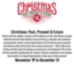 Christmas Past Present Future - no curta