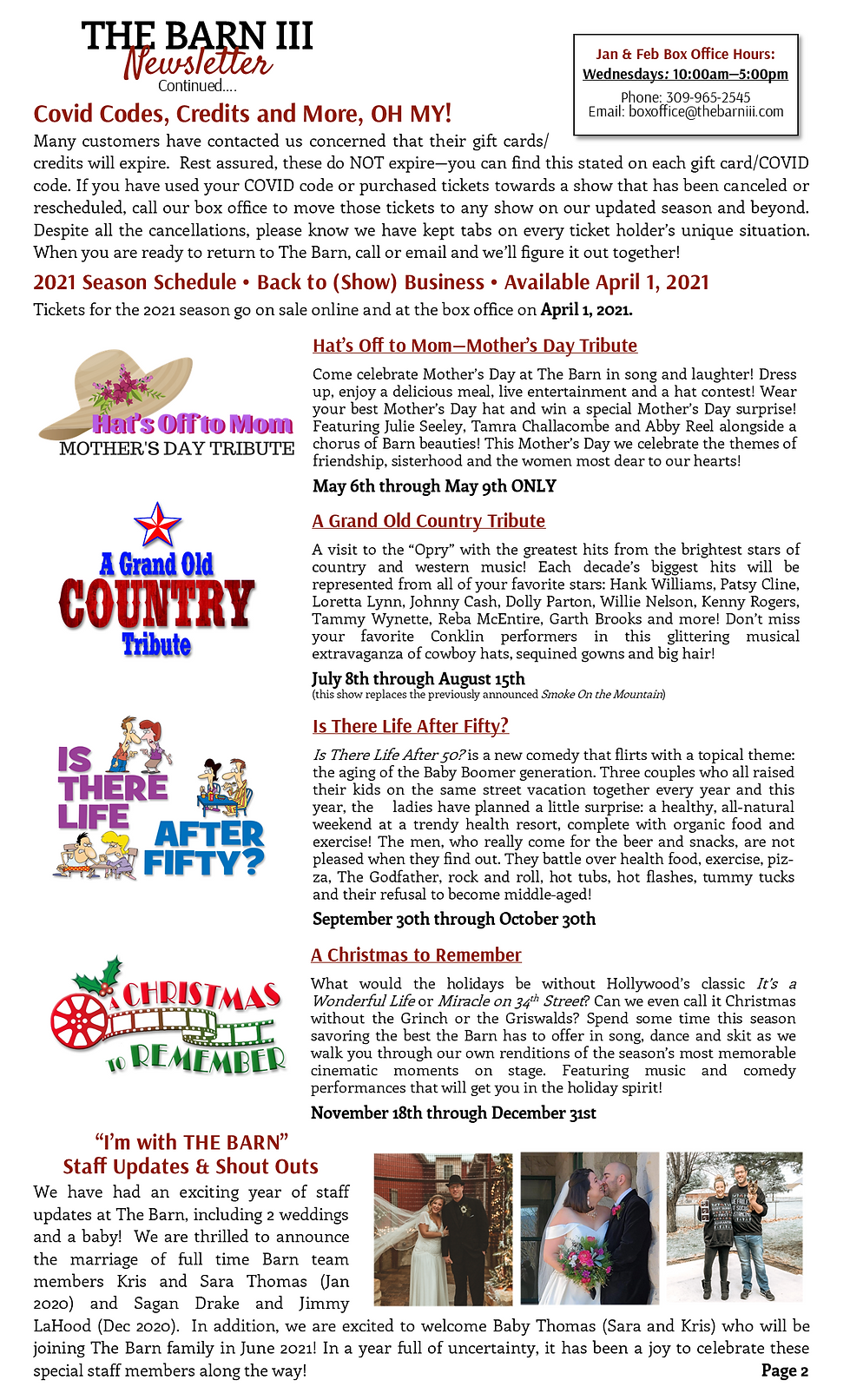 Working Copy - January Newsletter page 2