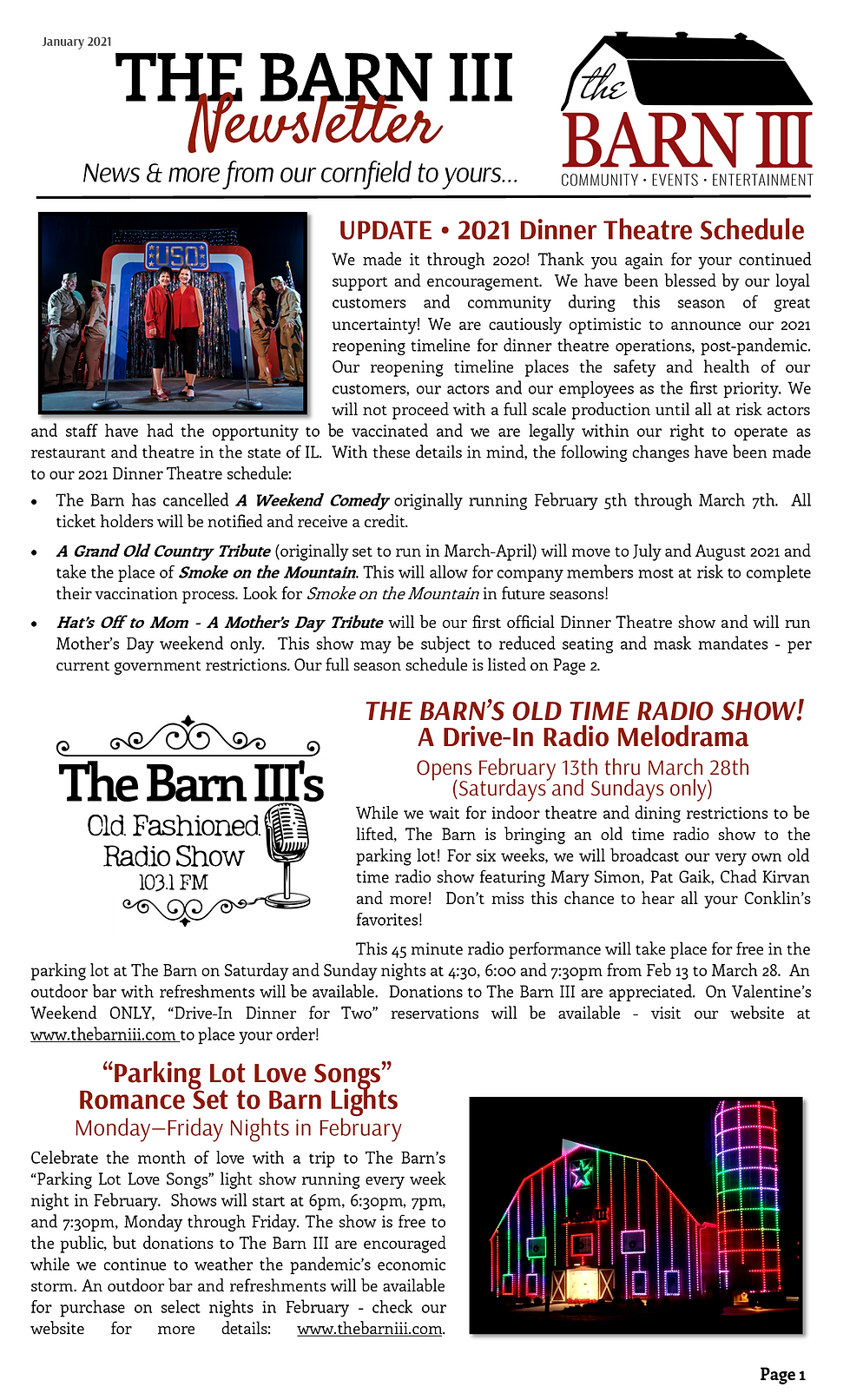 Working Copy - January Newsletter - webs