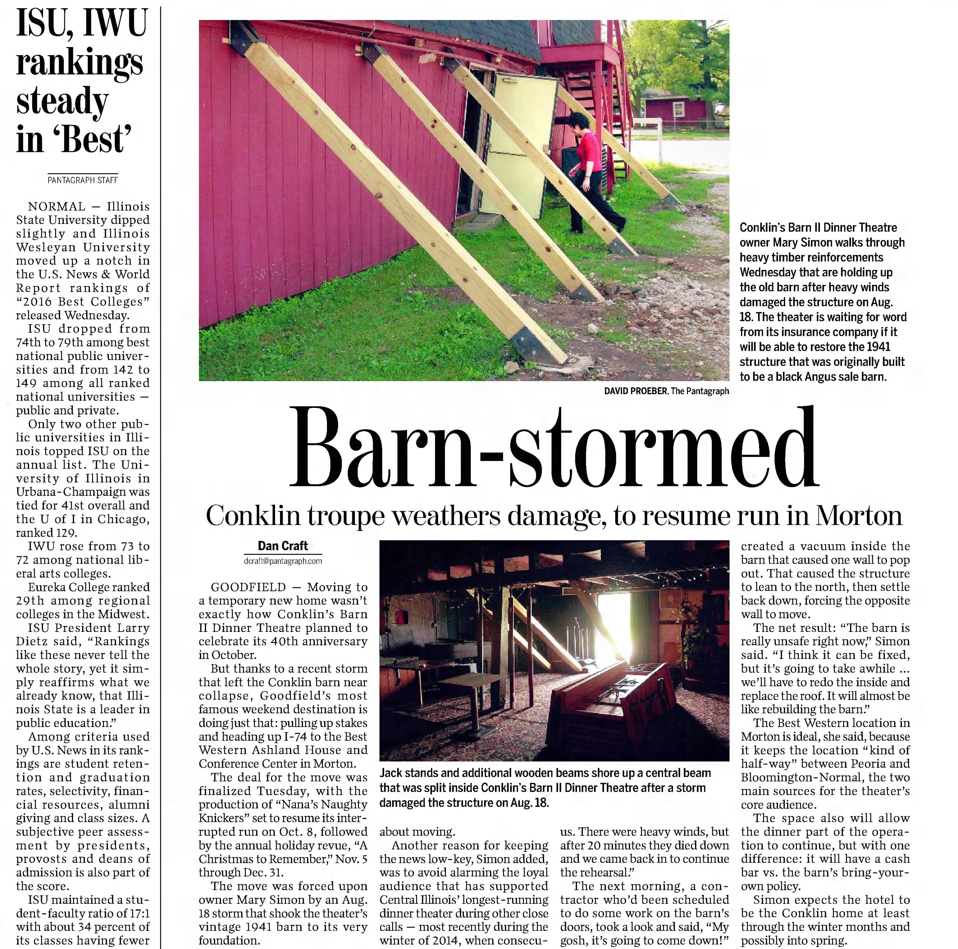 barn article newspaper