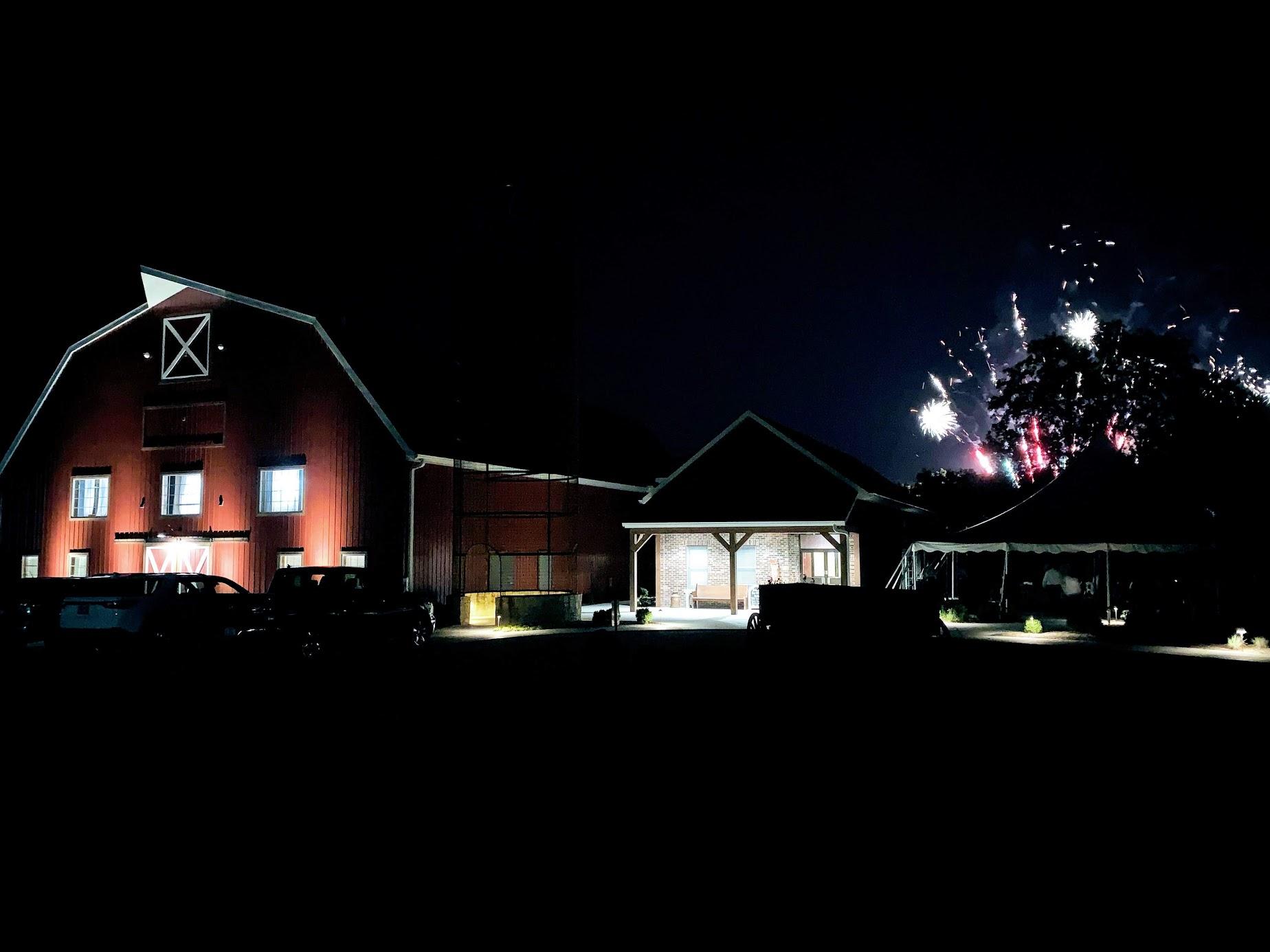 BARN fireworks