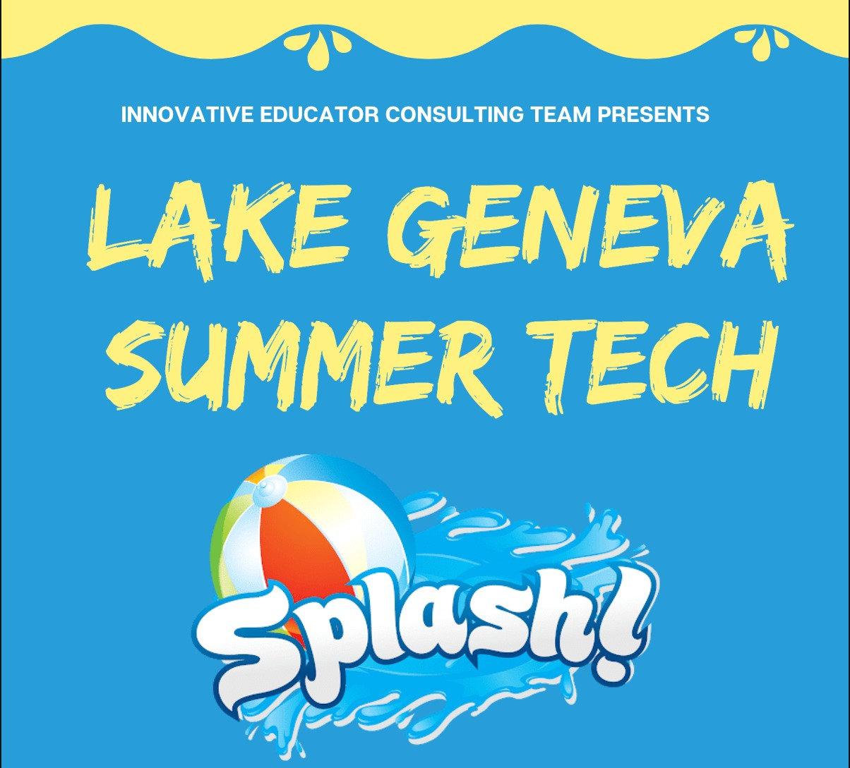 Individual Reg. LG Summer Tech Splash