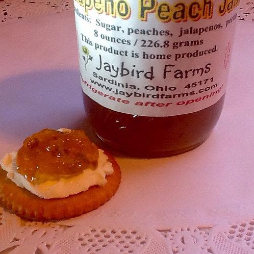 Jalapeno Peach Jam