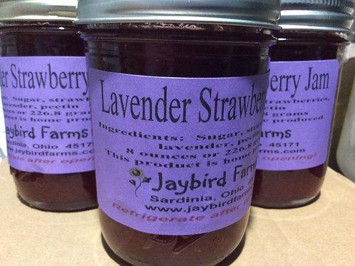 Lavender Strawberry Jam