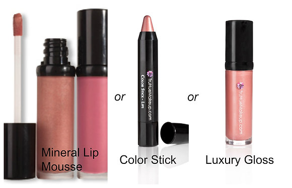 Mineral Lip Mousse -OR- Color Stick