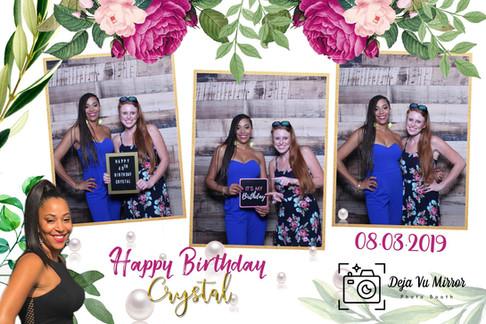 Birthday Girl & Friend