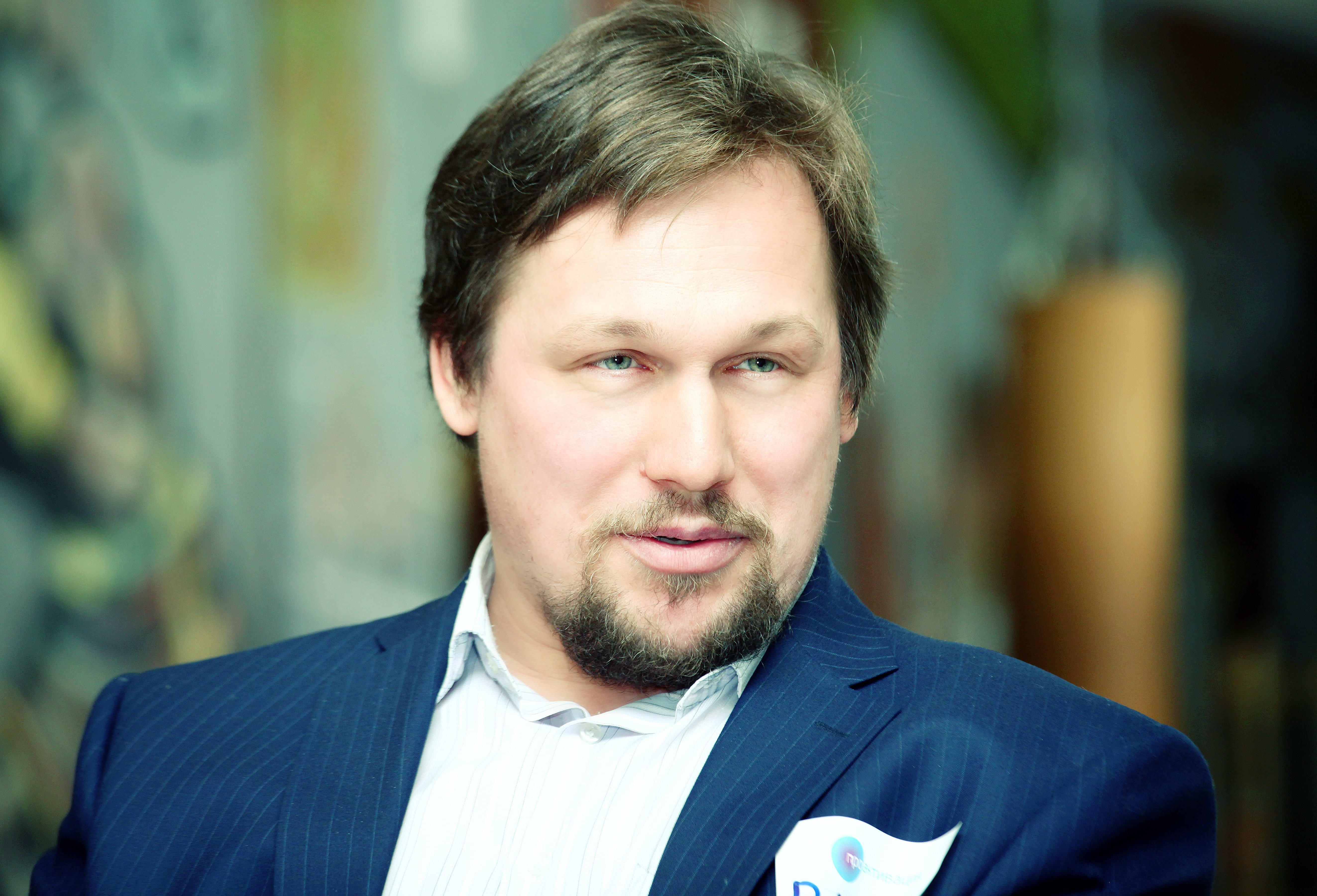 Виктор Сажин, спикер.