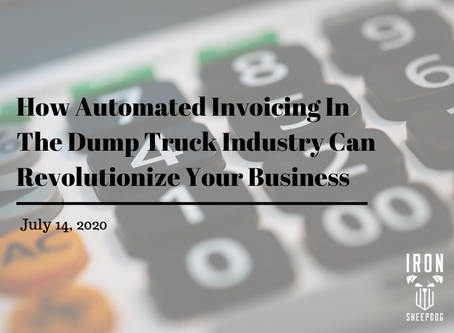 How Automated Invoicing In The Dump Truck Industry Can Revolutionize Your Business