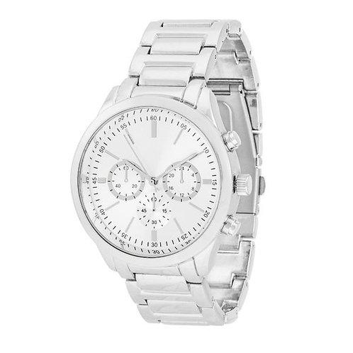 Chrono Silvertone Watch